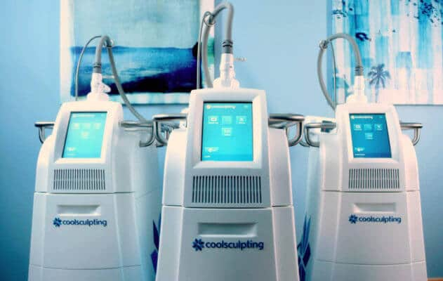 8 machines to serve you at Cienega Med Spa
