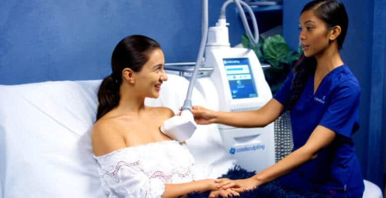 CoolSculpt your pesky bra bulges away in our West Hollywood location