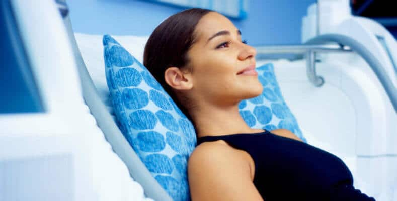 Relax during your treatment. CoolSculpting is easier than you think it is.